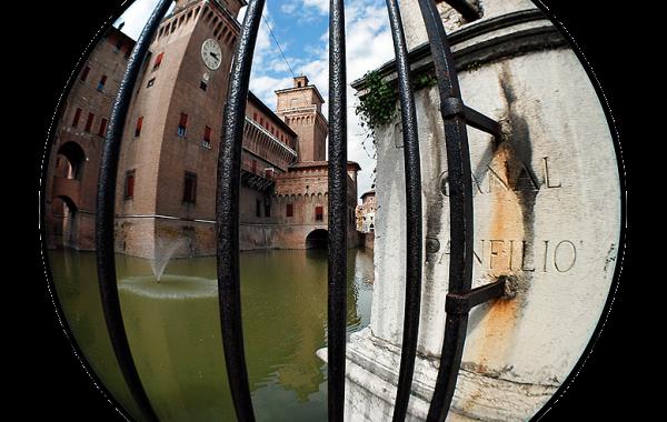 Ferrara in a Fisheye