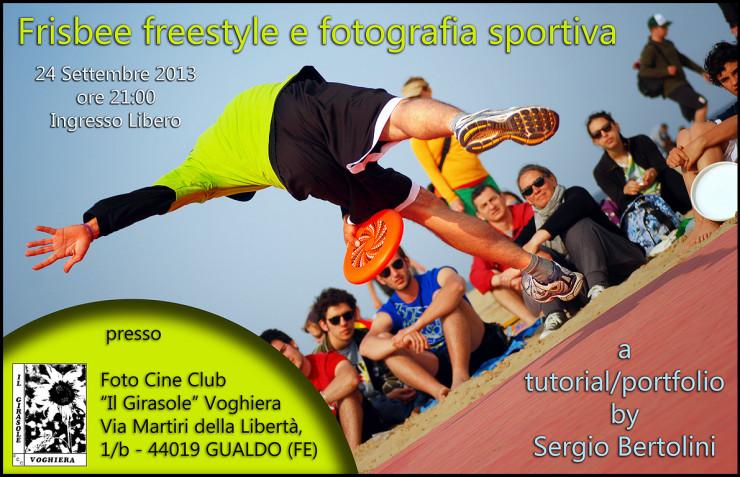 Seminario Frisbee Freestyle e Fotografia Sportiva