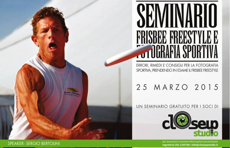 Terza Edizione Seminario Frisbee Freestyle e Fotografia Sportiva