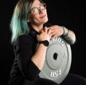 Sonia, il CrossFit, i tatuaggi e il disco da 5kg