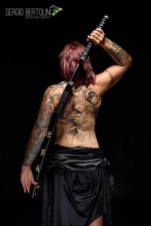 Sonia, dei Tattoo, delle Geishe e delle Katane