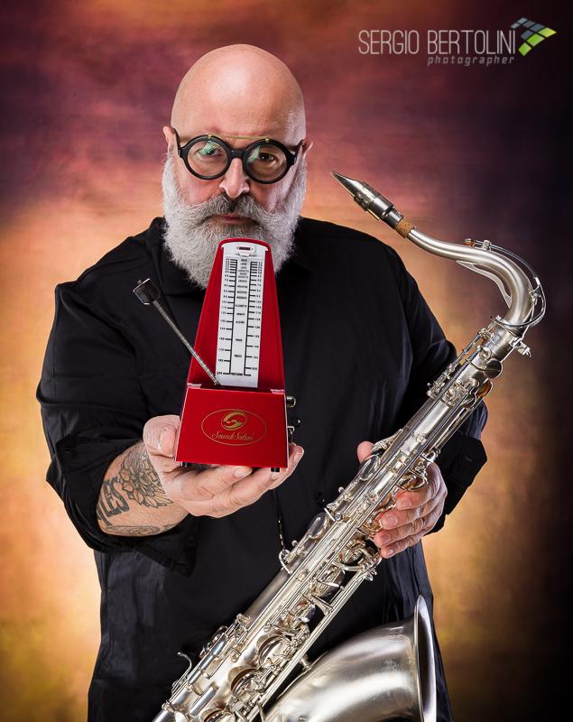 Andrea Poltronieri Sax Machine